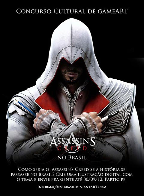 Assassin's Creed no Brasil: Concurso de Game Art