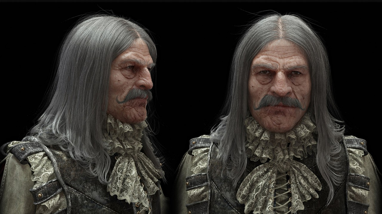 MAKING OF | Mosqueteiro, personagem de Igor Catto modelado em ZBrush